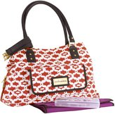 CoCalo Kayla Satchel in Lattice
