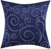 "Charisma Alfresco Embroidered 18"" Square Decorative Pillow Bedding"