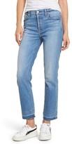 7 For All Mankind Women's Edie High Waist Crop Release Hem Jeans