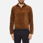 Oliver Spencer Men's Buffalo Jacket Cord Ginger