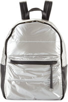 French Connection Gia Nylon Backpack, Silver