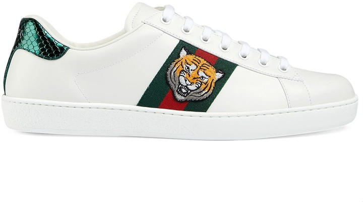 gucci shoes tiger price