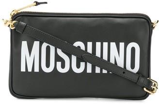 Moschino logo cross body bag