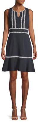 Nanette Lepore Nanette By Knit A-Line Dress