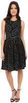 Calvin Klein Sleeveless Scuba Belted Dress CD5M2753