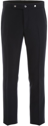 Burberry Tailored Stud Detail Trousers