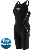 Speedo Women's LZR Racer X Open Back Kneeskin Tech Suit Swimsuit 8130205