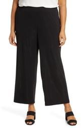 Lafayette 148 New York Riverside Matte Jersey Crop Pants