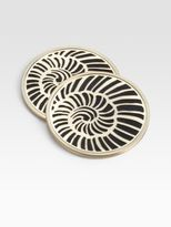 L'OBJET Shell Coasters/Set of 4