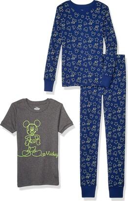 Spotted Zebra Little Boys' Frozen 3-Piece Snug-Fit Cotton Pajama Set