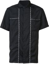 Lanvin contrast stitch shirt - men - Silk/Cotton - 39