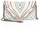 Elena Ghisellini Selina Small Leather Clutch