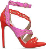 Carvela Gladly faux-suede embellished sandals