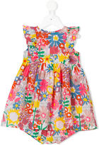 Stella McCartney graphic flowers Autumn dress - kids - Organic Cotton - 3 mth