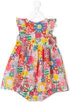 Stella McCartney graphic flowers Autumn dress