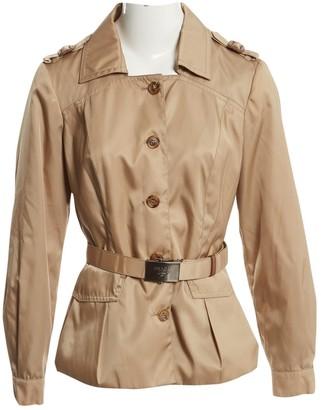 Prada Beige Polyester Trench coats