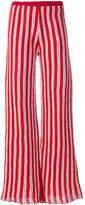Aviu striped flared trousers