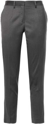MACKINTOSH Cropped Melange Wool Slim-leg Pants