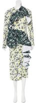 Marni Crepe Floral Dress w/ Tags