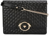 Roberto Cavalli quilted crossbody bag - women - Leather/metal - One Size