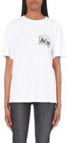 Aries Rat print cotton t-shirt