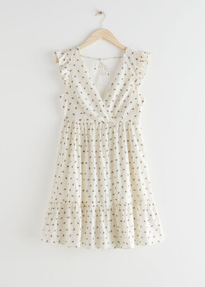 And other stories Sleeveless Cotton Mini Dress