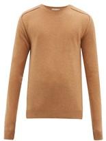Bottega Veneta - Monogram Intarsia Cashmere Sweater - Mens - Camel