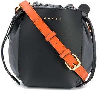 Marni Drawstring Bucket Crossbody Bag