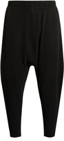 HOMME PLISSE ISSEY MIYAKE Dropped-crotch pleated trousers