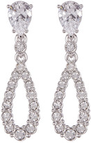 Nadri CZ Open Teardrop Earrings