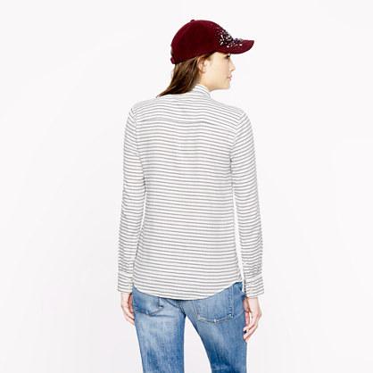 J.Crew Boy shirt in suckered stripe