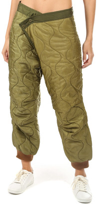 R 13 Refurbished Quilted Crossover Pant