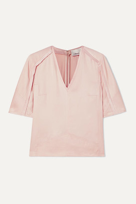 3.1 Phillip Lim Satin Blouse - Blush
