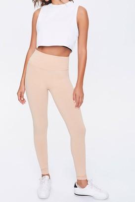 Forever 21 Basic Organic Cotton-Blend Leggings