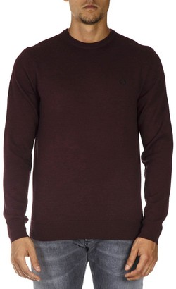 Fred Perry Mahogany Wool Sweater
