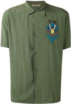 Nuur embroidered figure shirt - men - Viscose - 50