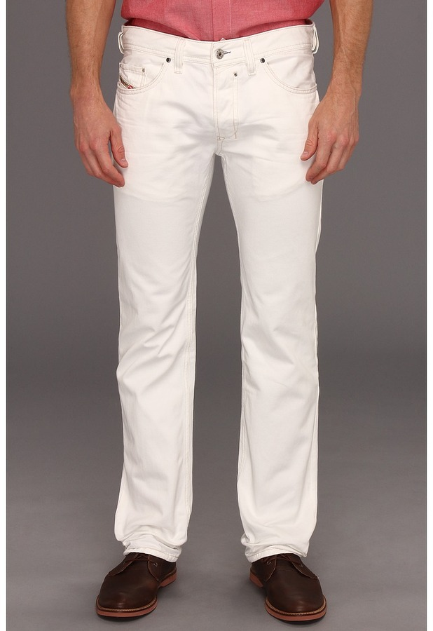 Diesel Safado Straight 811G (White) - Apparel