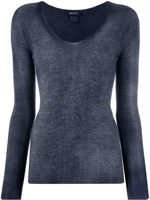 Avant Toi Fine Knit Long Sleeve Top