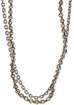 M. Cohen Men's Double-Strand Necklace-GOLD