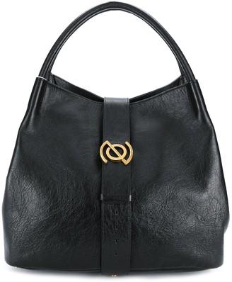 Zanellato Zoe cracked-effect tote bag