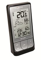 Oregon Scientific BAR218HG Wireless Indoor/Outdoor Thermo Hygrometer with Bluetooth Connectivity - Black
