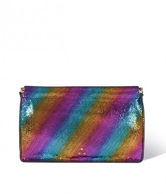 Jerome Dreyfuss Clic Clac Large Clutch in Arc-En-Ciel