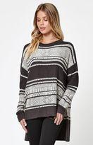 Billabong Tidal Mirage Stripe Pullover Sweater