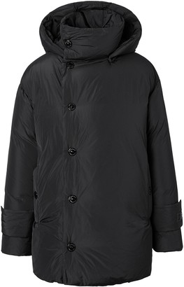 Burberry Hooded Padded Down Coat