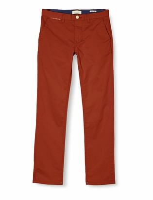 Chino in Pima Cotton Quality with Stretch Trouser Scotch /& Soda Boys Slim Fit