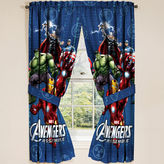 Asstd National Brand Marvel Avengers Classic Halo 2-Pack Rod-Pocket Curtain Panels