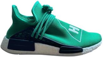 Adidas X Pharrell Williams NMD Hu Green Cloth Trainers