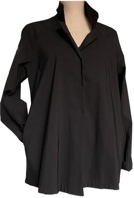Tadashi Shoji Black Cotton Trench Coat for Women
