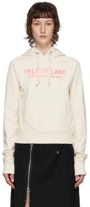 Helmut Lang Off-White Slim Hoodie
