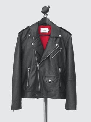 Deadwood Women's River Original Leather Biker Jacket